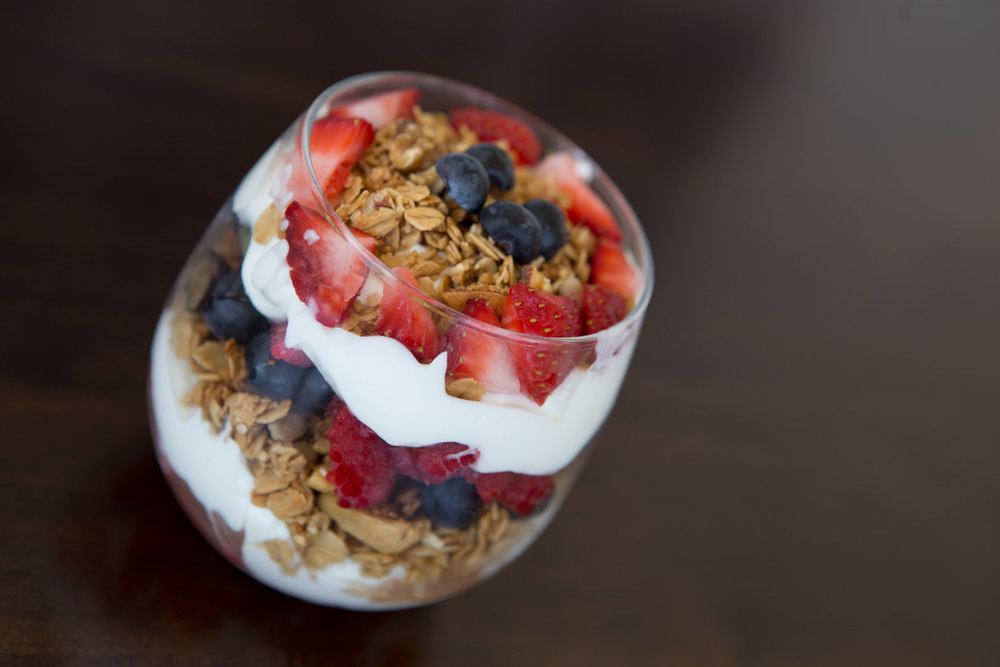 Healthy 4th of July dessert