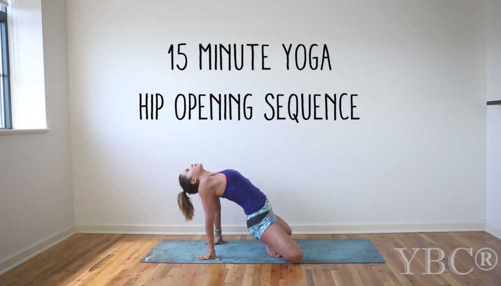 Pin now, practice later - 15 minute hip opening yoga video Wearing: Maaji shorts (on sale). Using: Hot yoga mat.