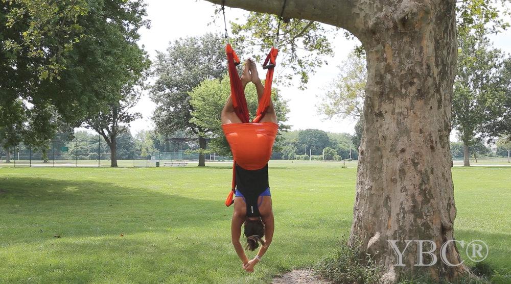 Aerial Yoga video