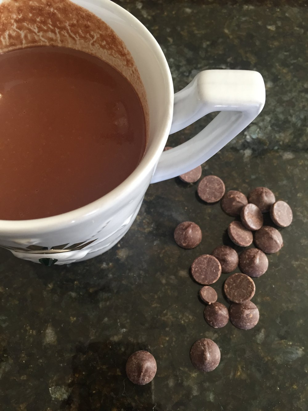 DIY Coconut Hot Chocolate
