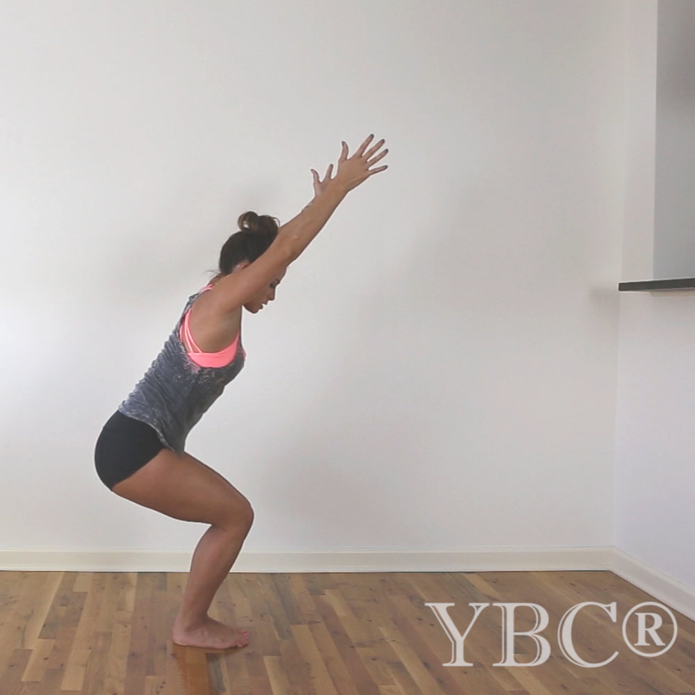 Pin now , practice later! 25 minute creative no-mat vinyasa yoga class