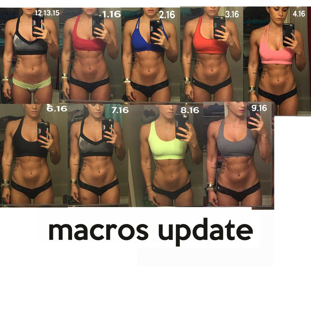 Macros update