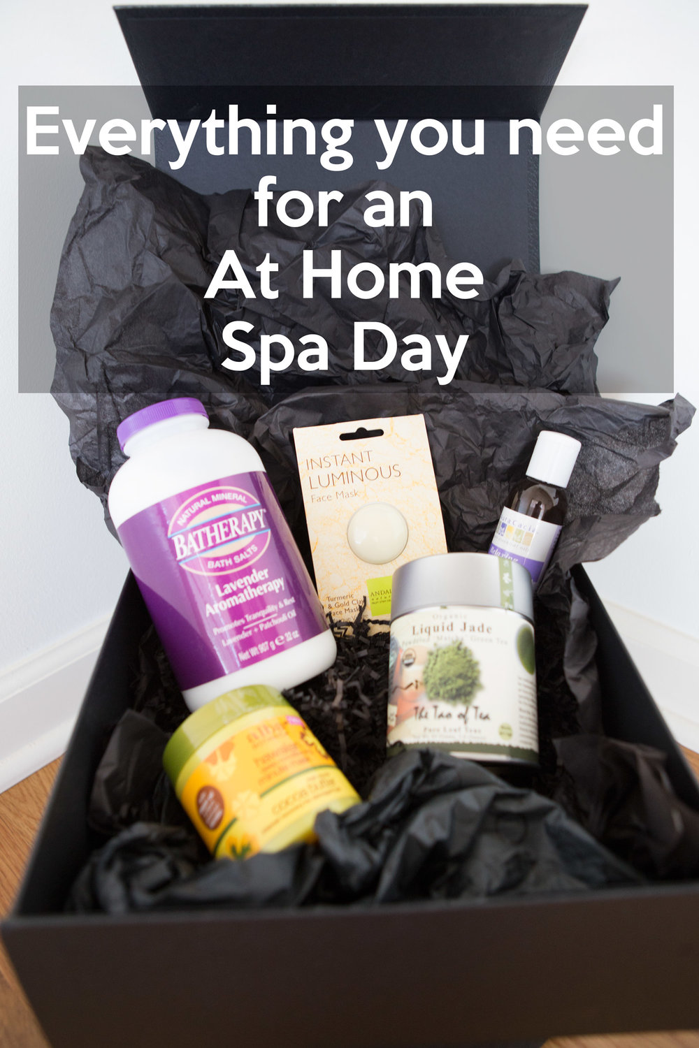 Everything you need for an at-home spa day