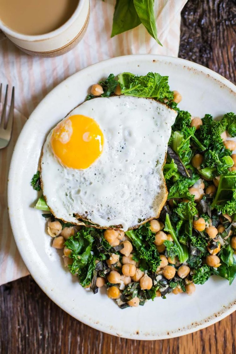 personal essay what is the perfect diet yogabycandace chickpea and kale breakfast skillet