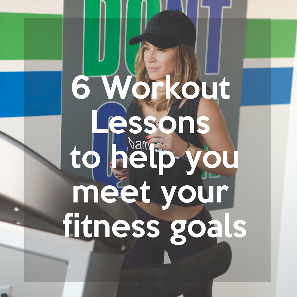 Follow us on Pinterest  and pin this now for easy reference later. 6 Workout lessons to help you be successful at the gym.