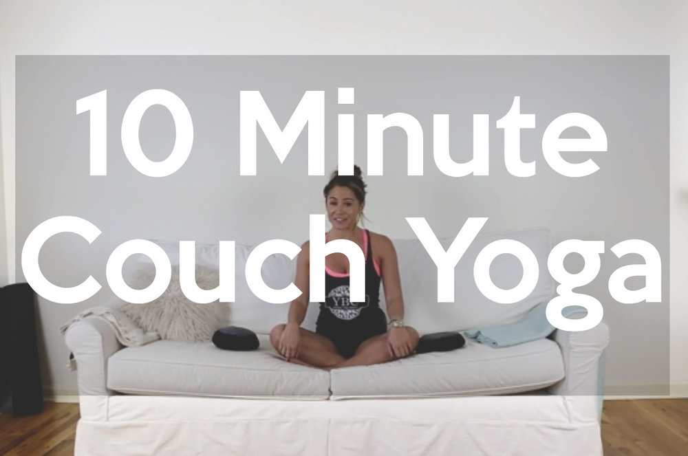 Couch yoga