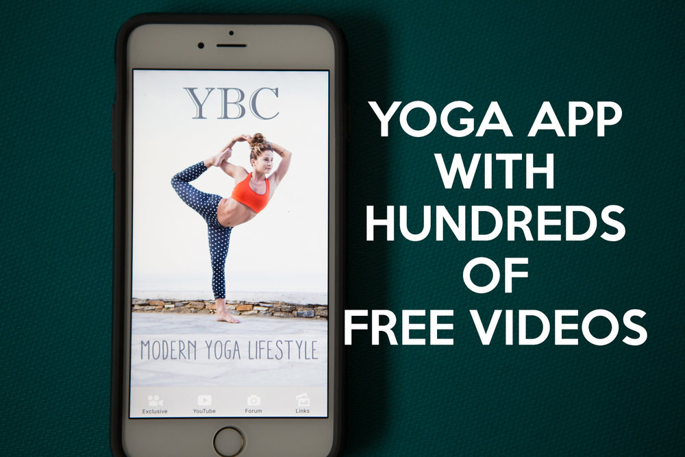 Follow us on Pinterest and pin this image for easy reference to what's on the docket for the exclusive section of the YBC Yoga App!