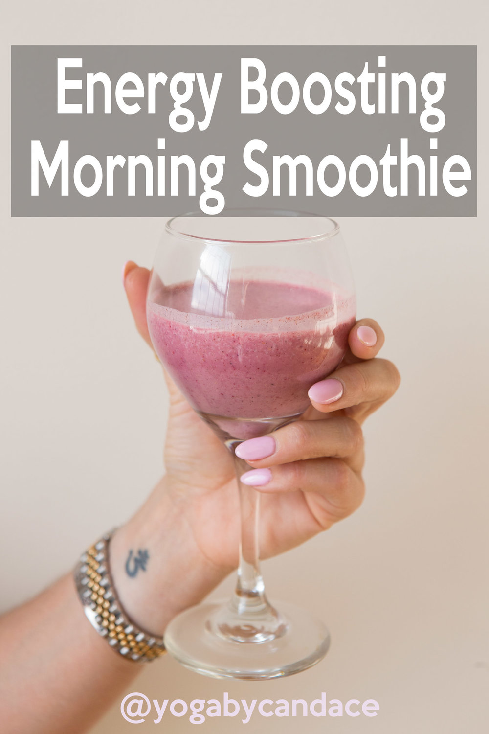Energy Boosting Morning Smoothie Recipe