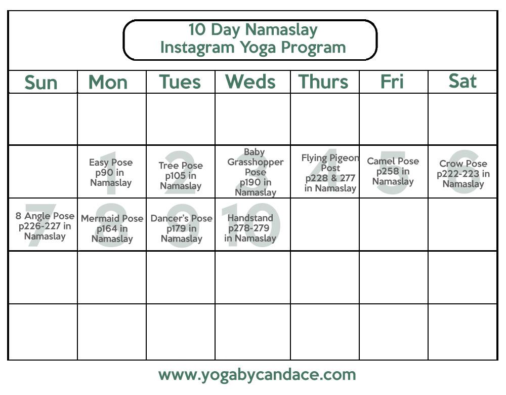 Namaslay instagram challenge!