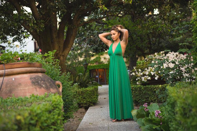 Style Series: Secret Garden Drama Dress — YOGABYCANDACE