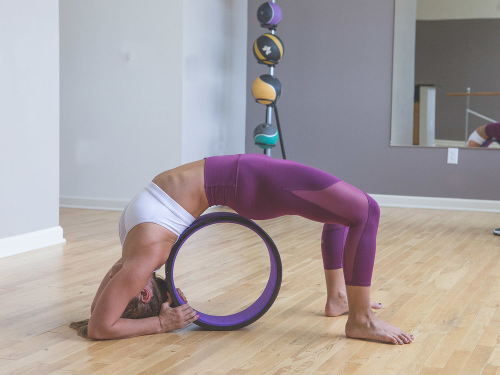 Yoga Wheel for Deep Backbend