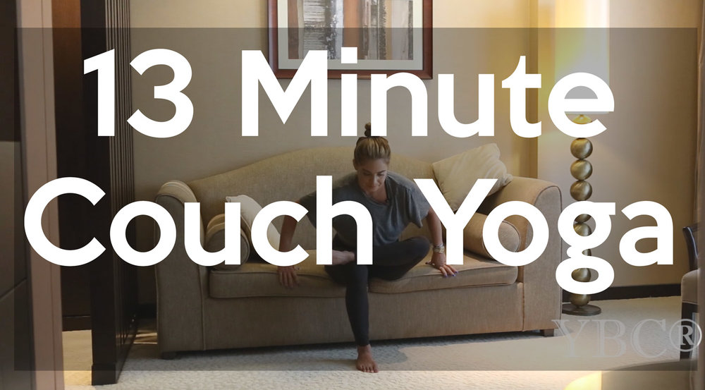 Couch yoga - pin it!   Follow us on  Pinterest .