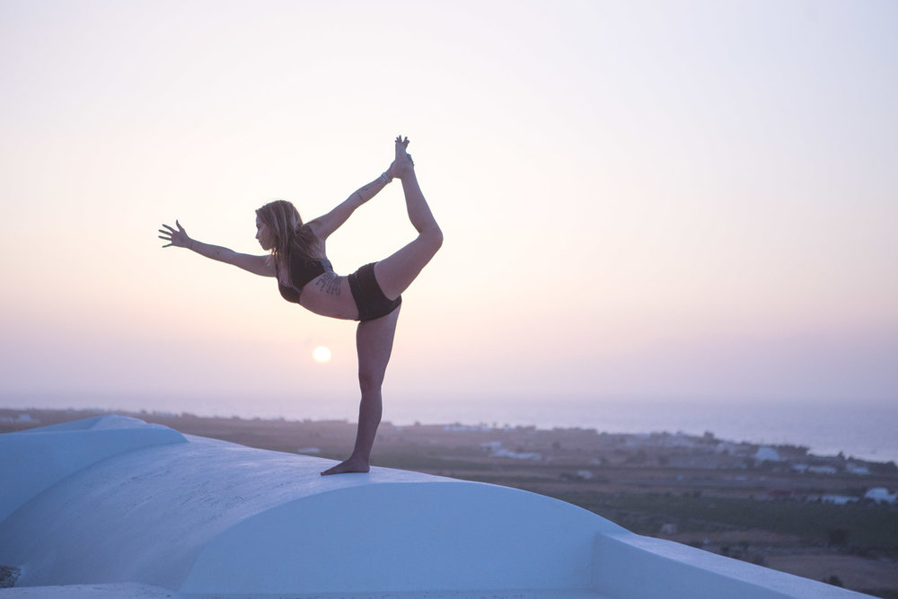 Santorini, Greece yoga retreat