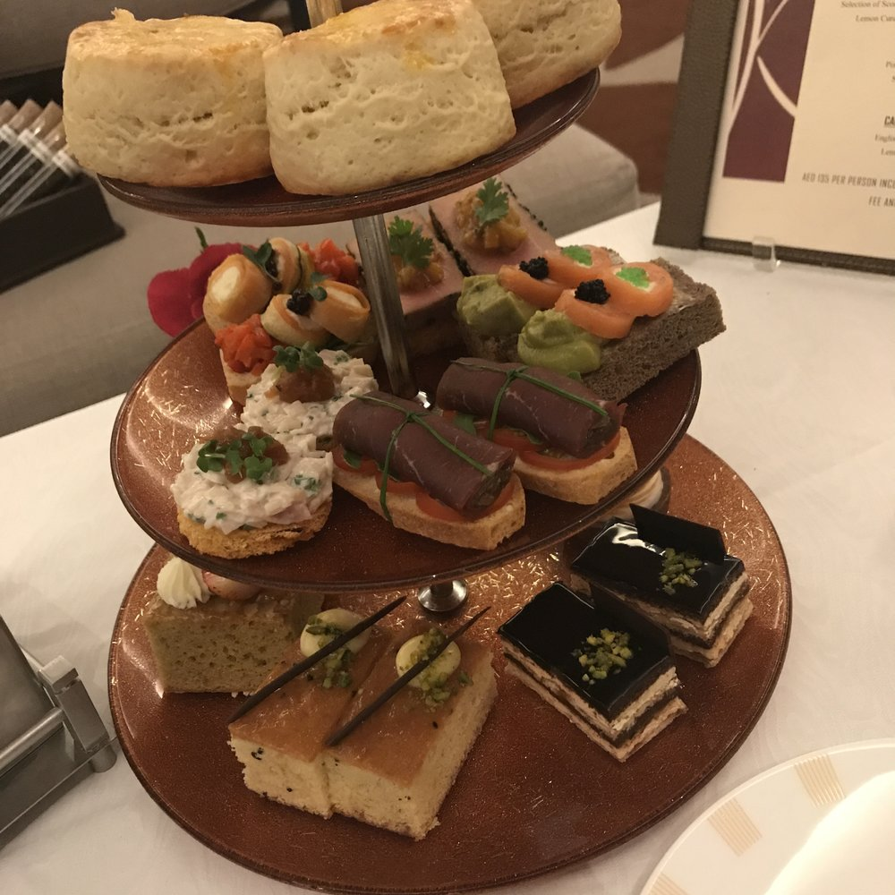 High Tea at Address Dubai Marina