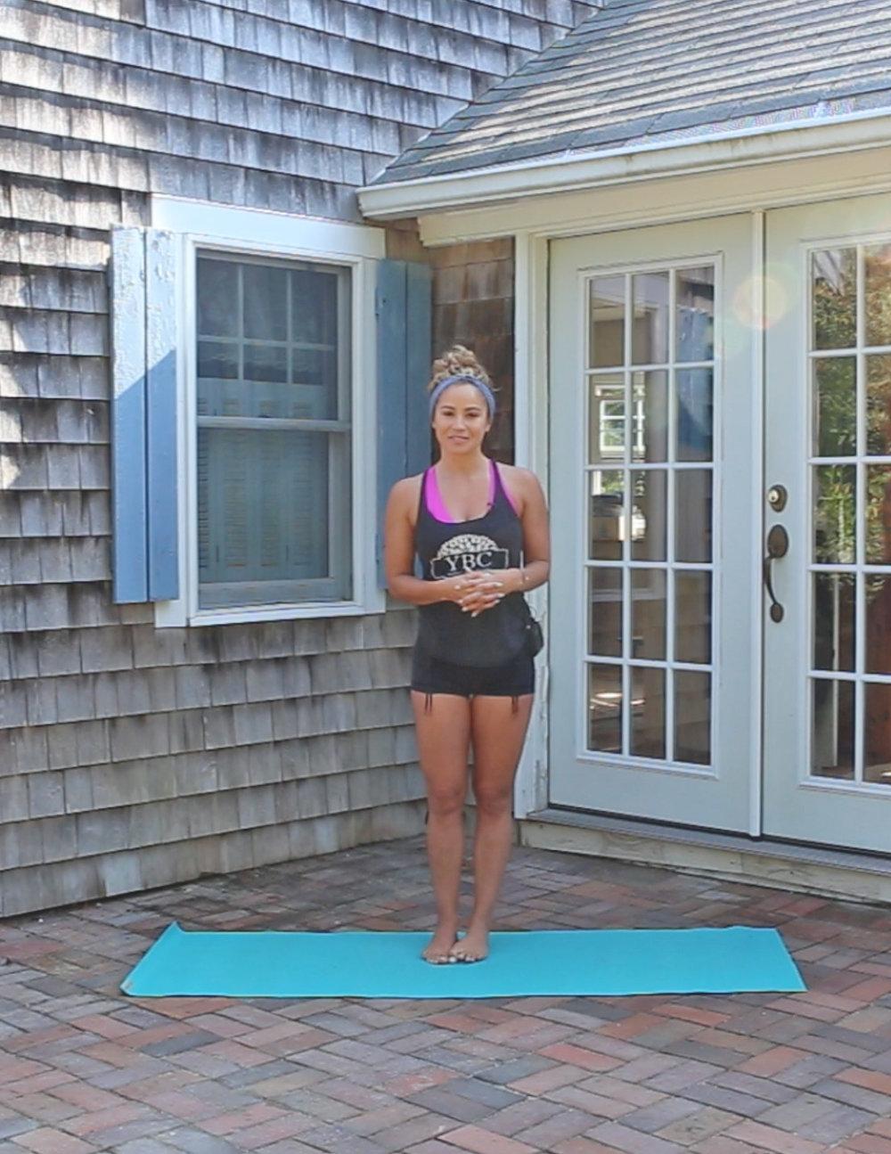 30 Minute vinyasa yoga flow class