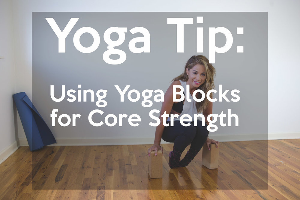 Yoga Blocks for Core Strength