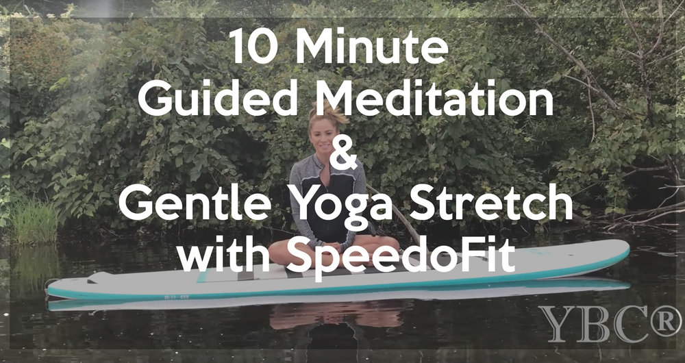 Guided meditation and gentle yoga