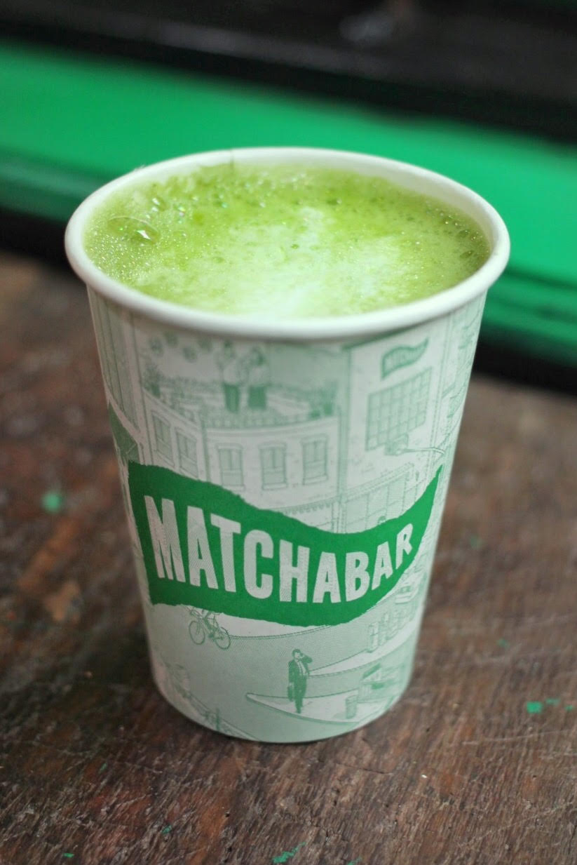 Matcha Latte from MatchaBar