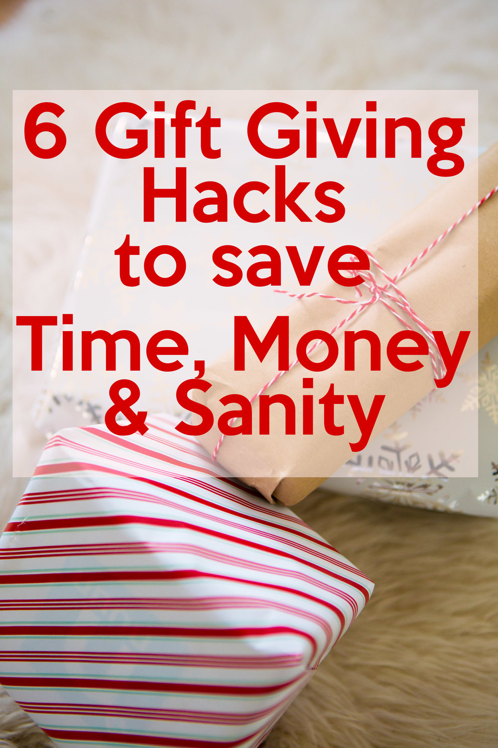 Pin it and save time, money and your sanity during the holiday season