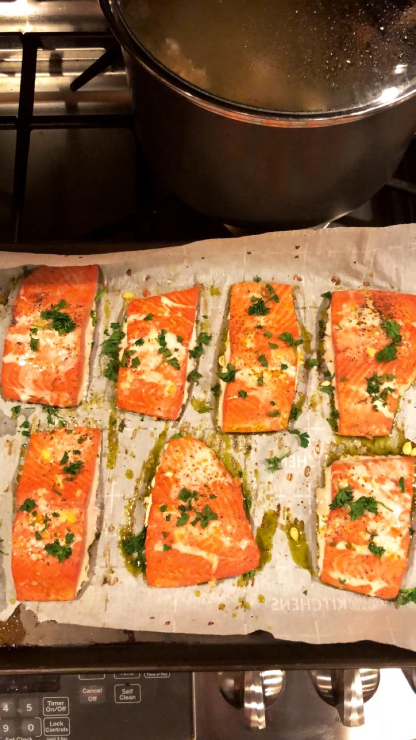 Sizzlefish Salmon