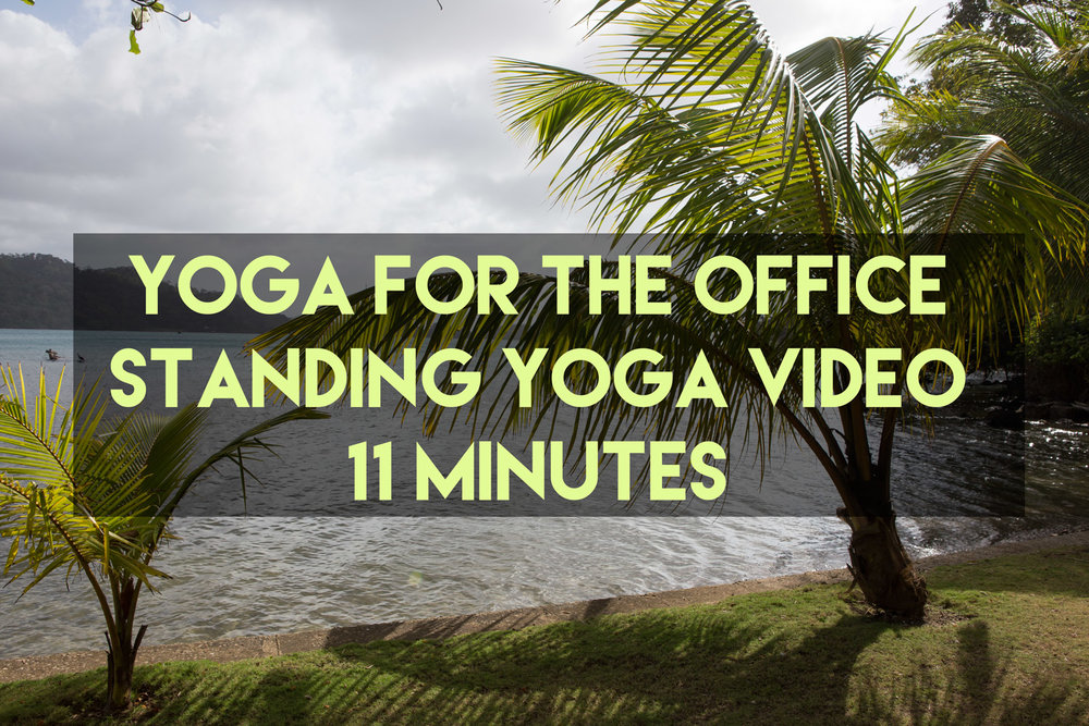 Yoga for the office -  Pin it !