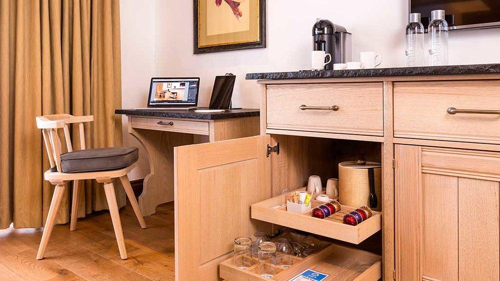 Coffee Amenities // Desk