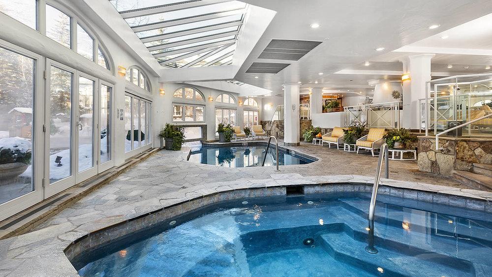 European Style Indoor/Outdoor Swimming Pool