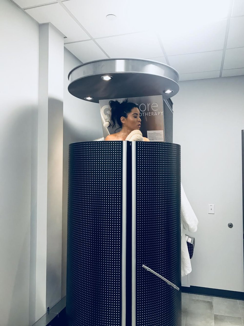 Cryotherapy for the first time