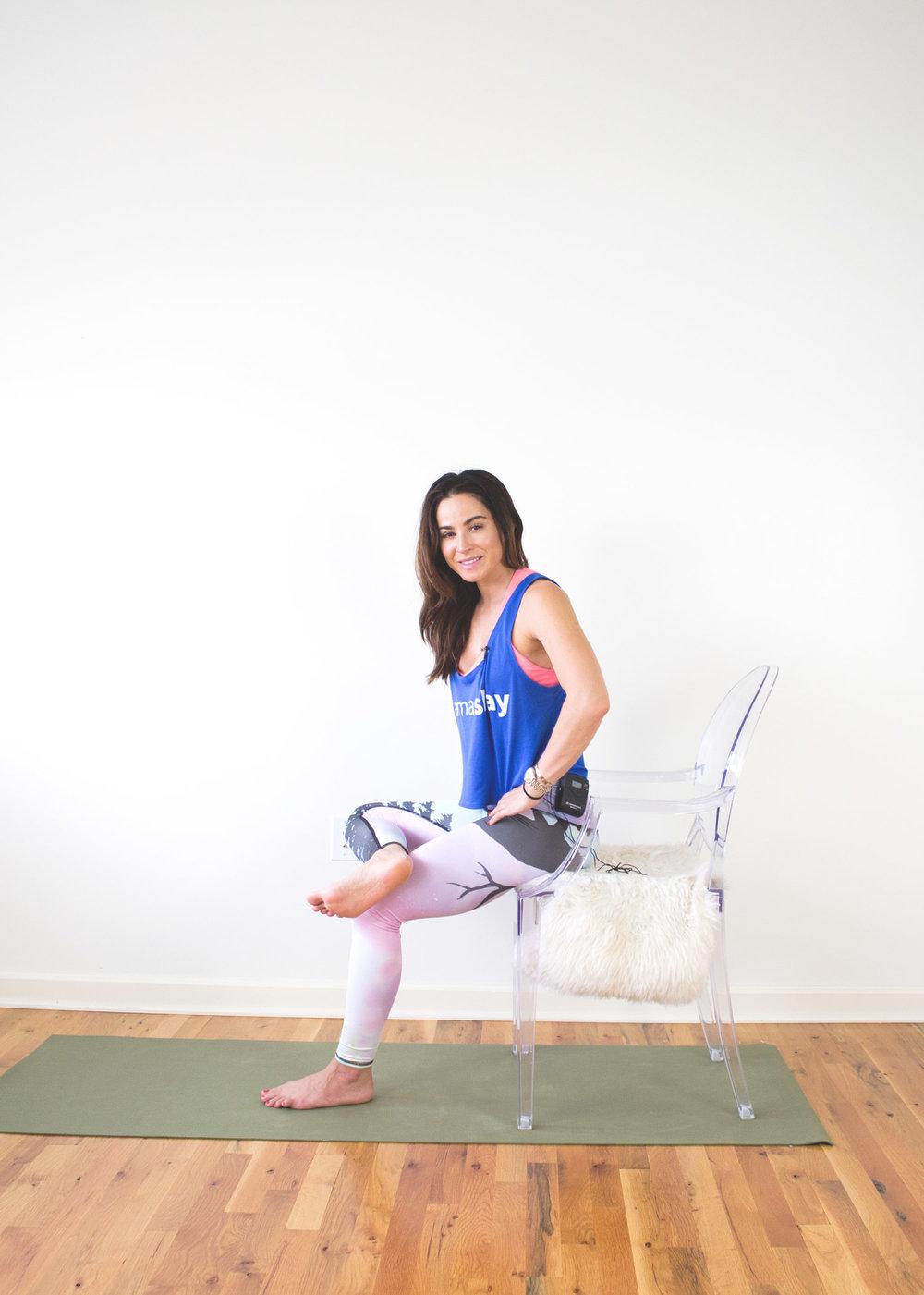 Wearing:  Namaslay® tank  and  Teeki pants