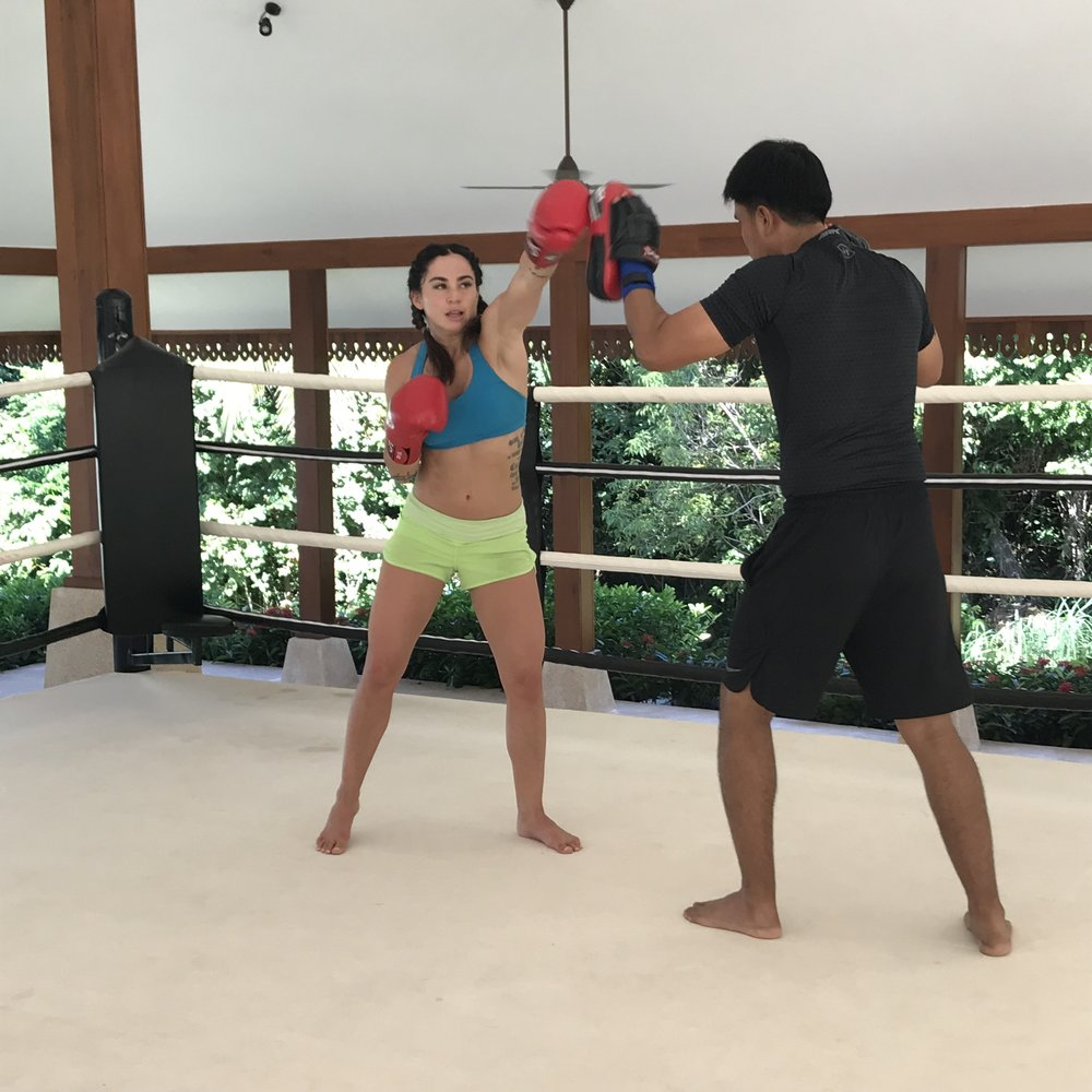 Muay Thai at the Ritz-Carlton Koh Samui