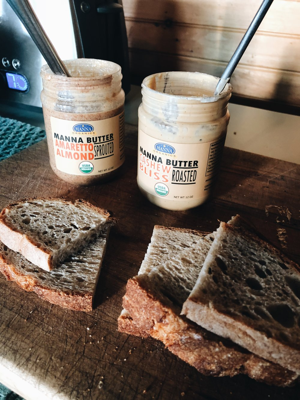 Manna Organics - Sprouted Almond Butter and Cashew Butter