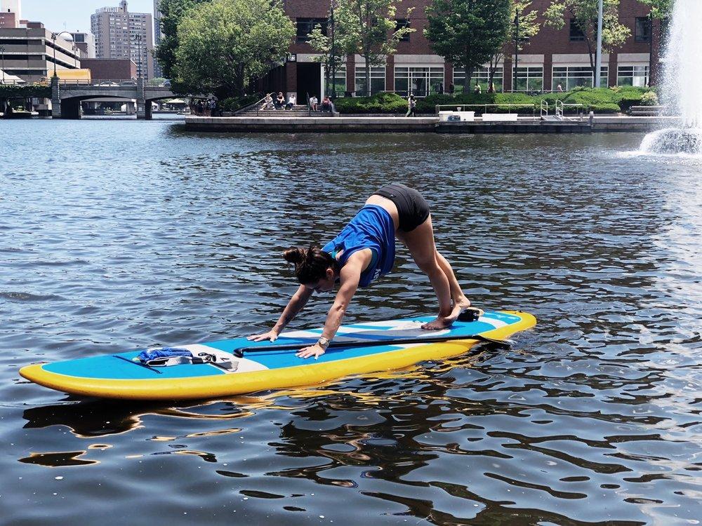 June - International yoga day in Boston