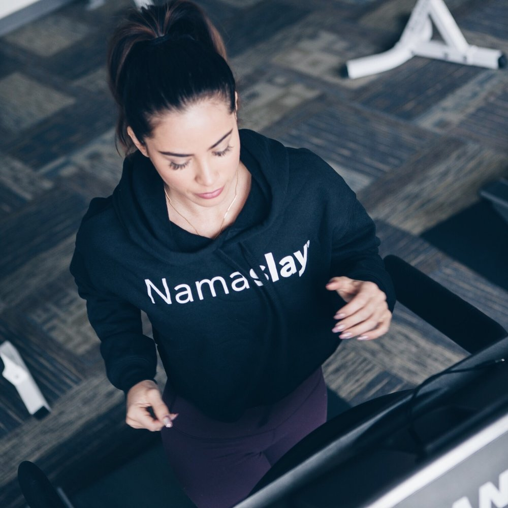 Our Namaslay® cropped hoodies hit the market