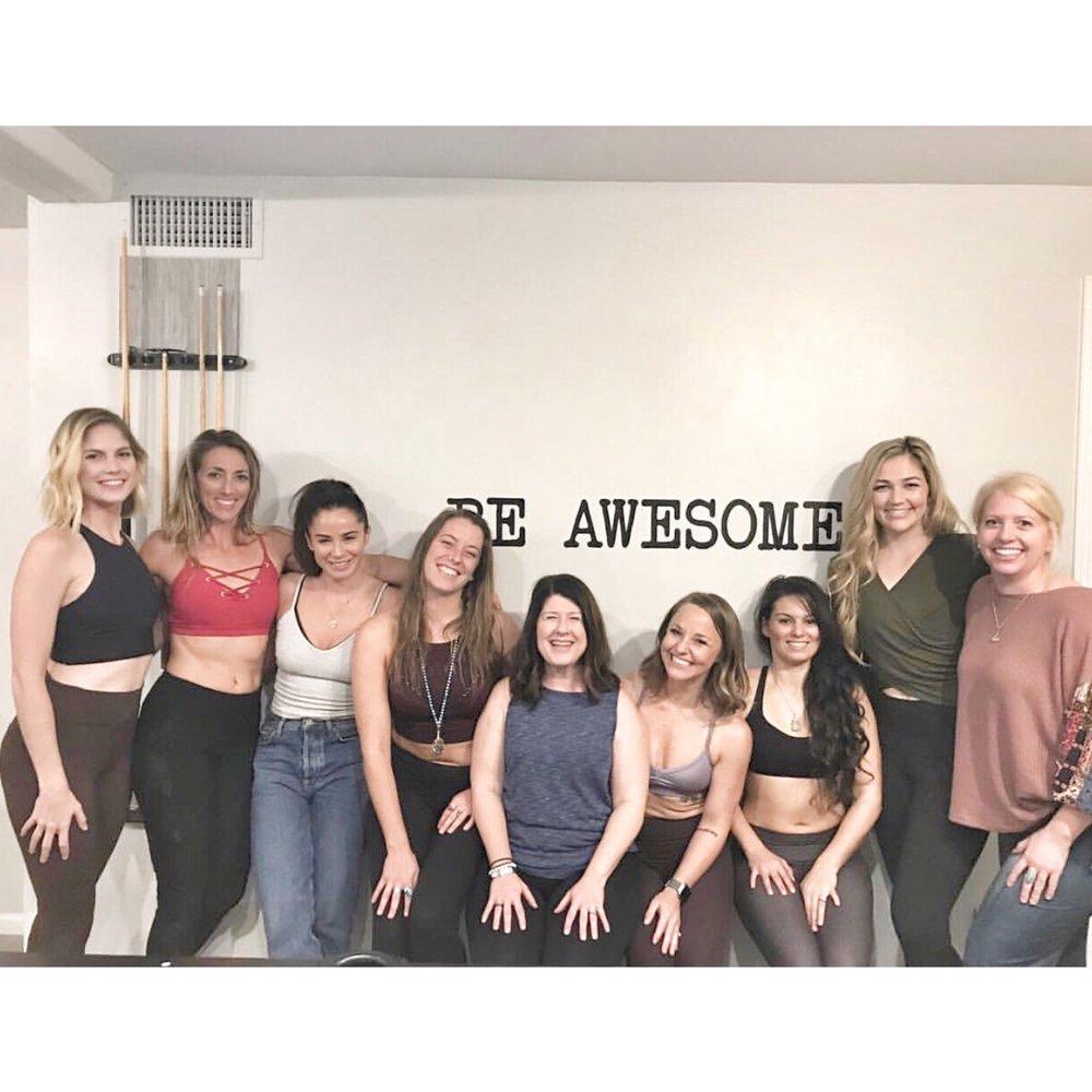 Scottsdale, AZ - Our group of yoga teachers