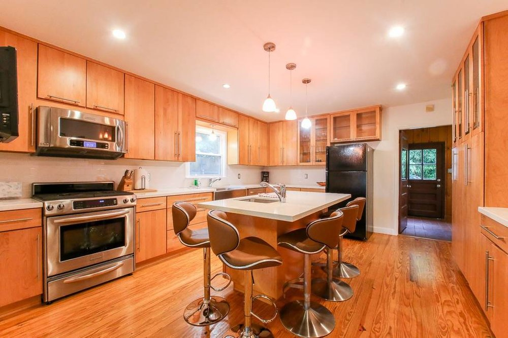 A great kitchen.