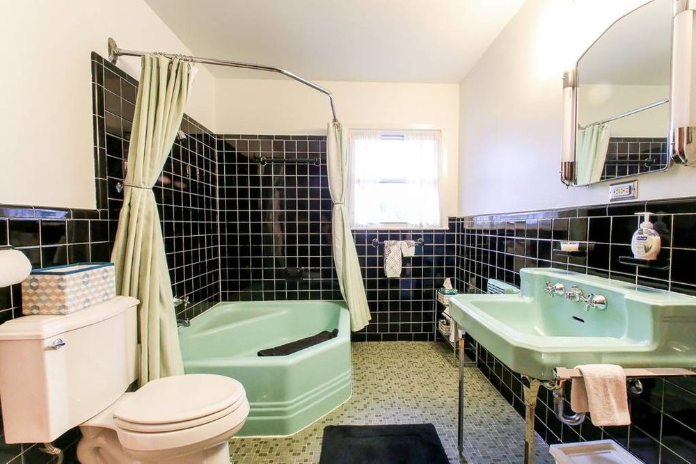 An example of one of the residence's bathrooms.