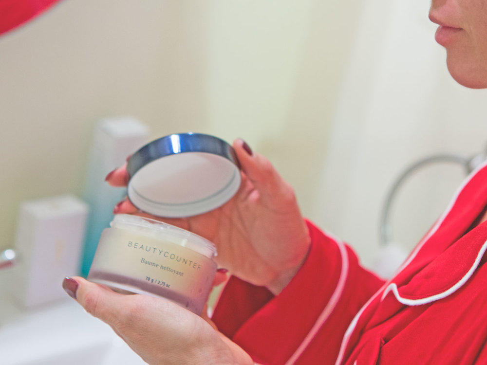 Start with the  Cleansing Balm