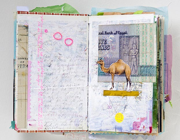 A sampling of Christine's work in A World of Artist Journal Pages.