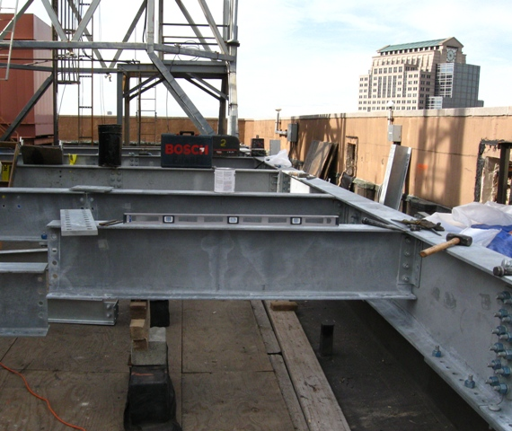 Roof Dunnage Definition & KSR Roof Curb Rail