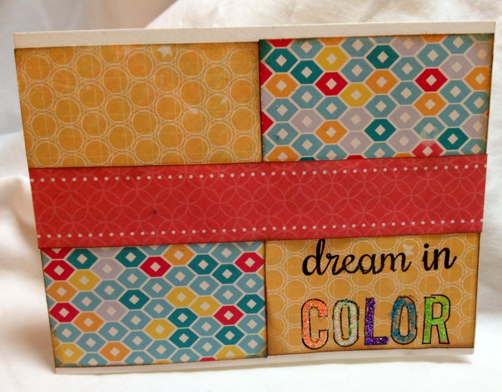 Card 1: Dream in Color