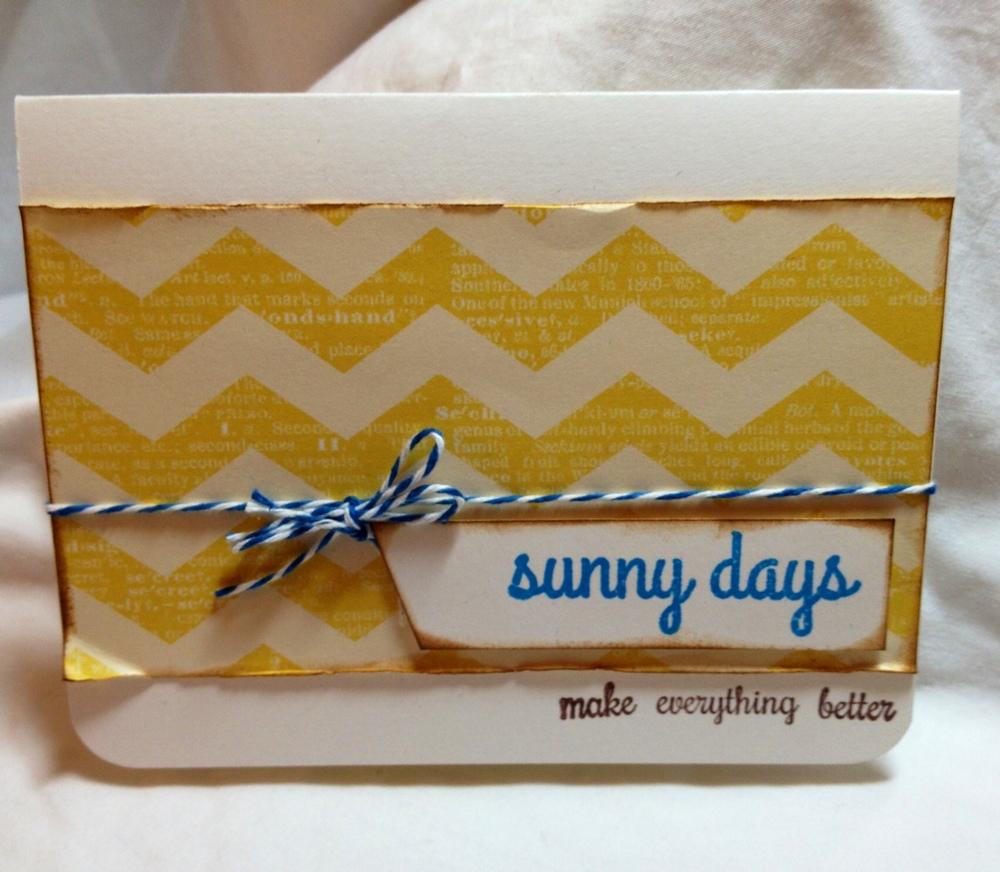 Card 2: Sunny Days