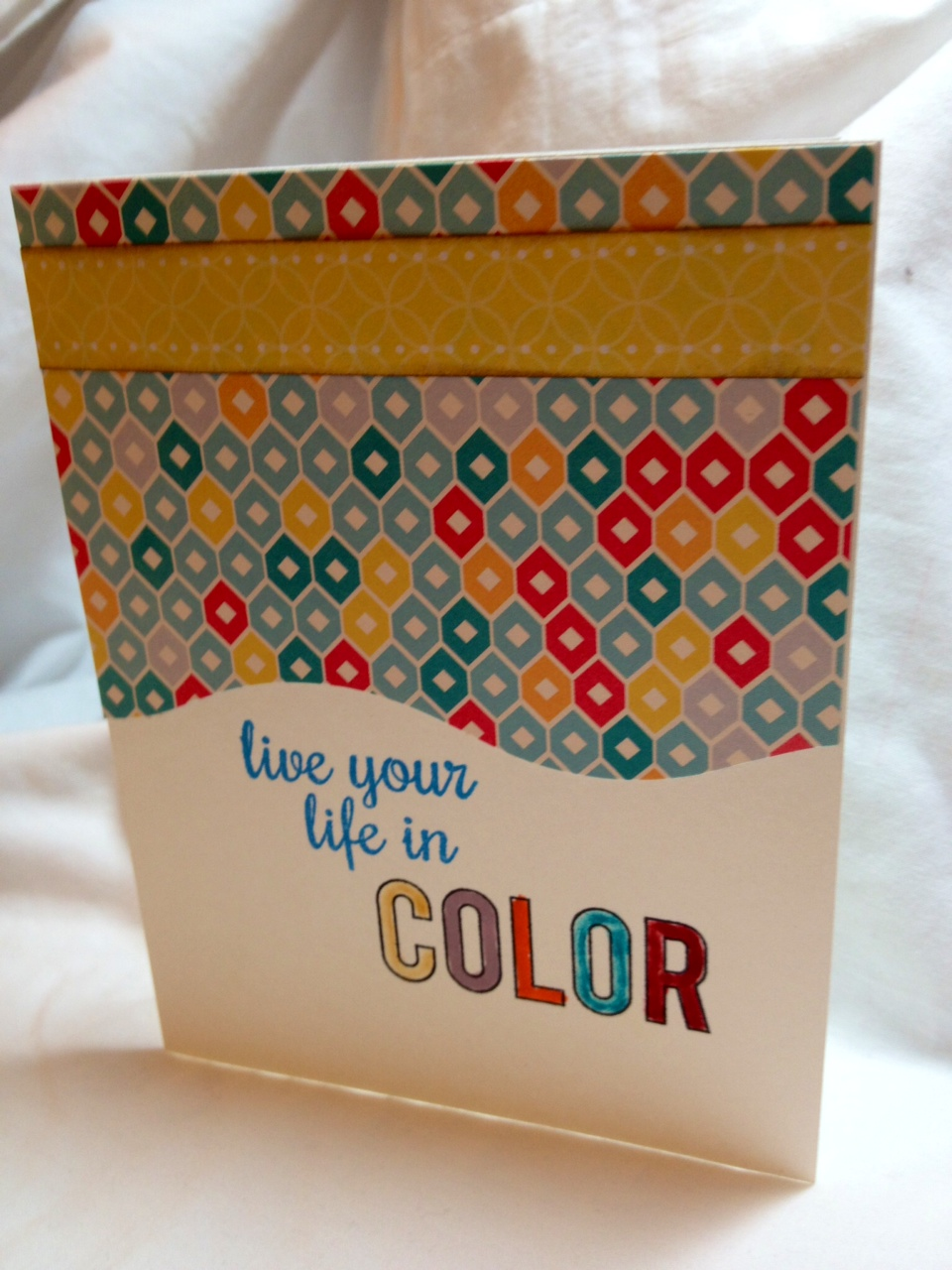 Card 3: Live in Color