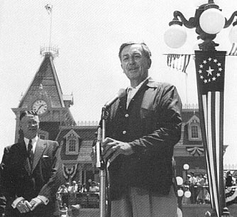 Opening Day, Disneyland - July 17, 1955.