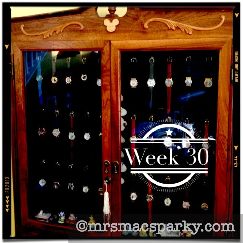 My Disney Time: Week 30 - Daisy's Watch Cabinet