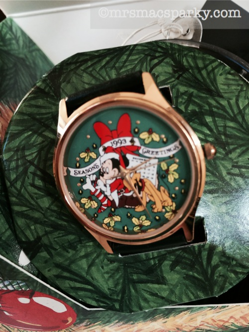 My Disney Time, Week 51, Mickey Mouse Christmas Watch