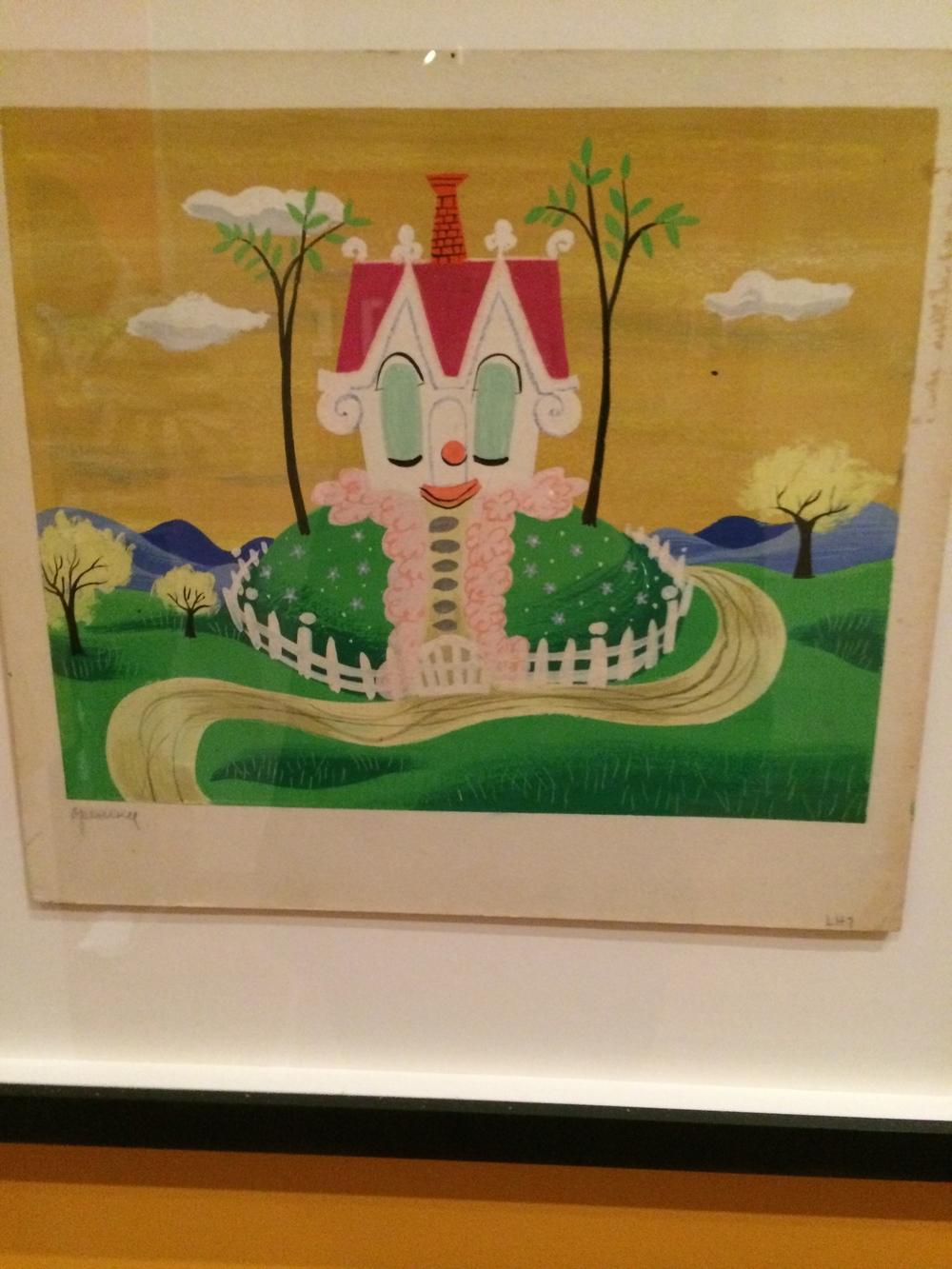 Visual development - The Little House (1946)