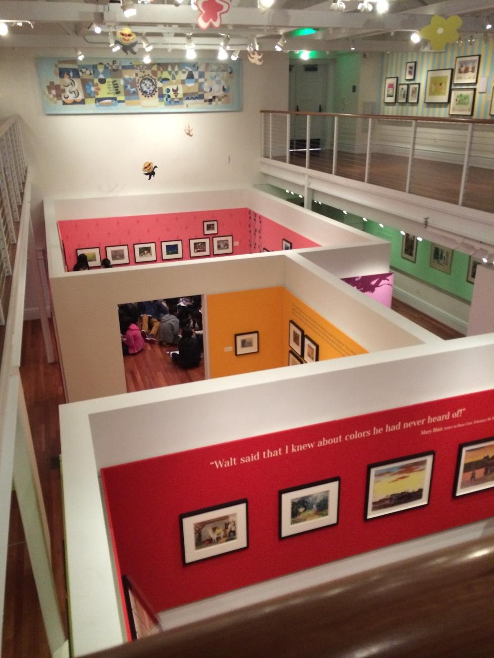 Mary Blair Exhibit, Walt Disney Family Museum March 2014