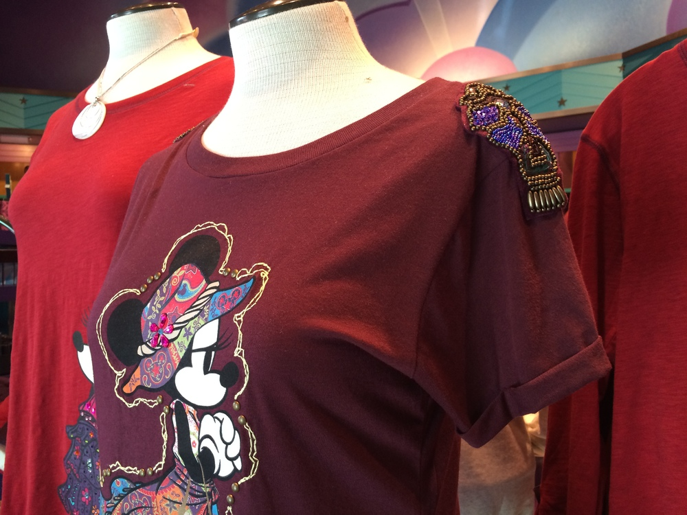 Fancy Minnie Mouse tee