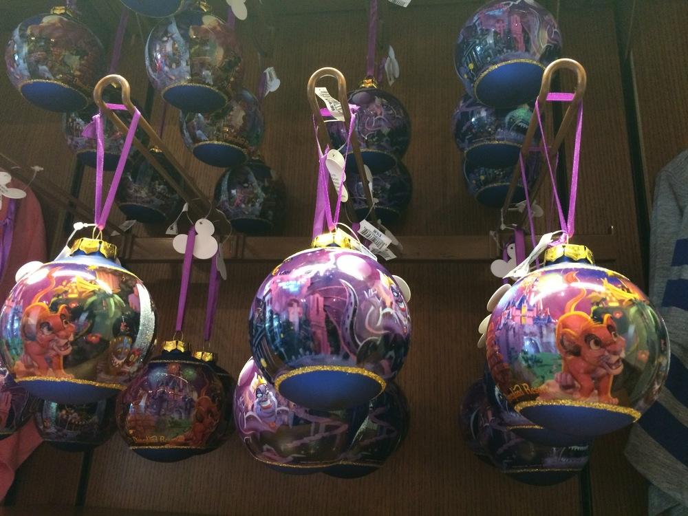 2014 Disneyland Ornaments
