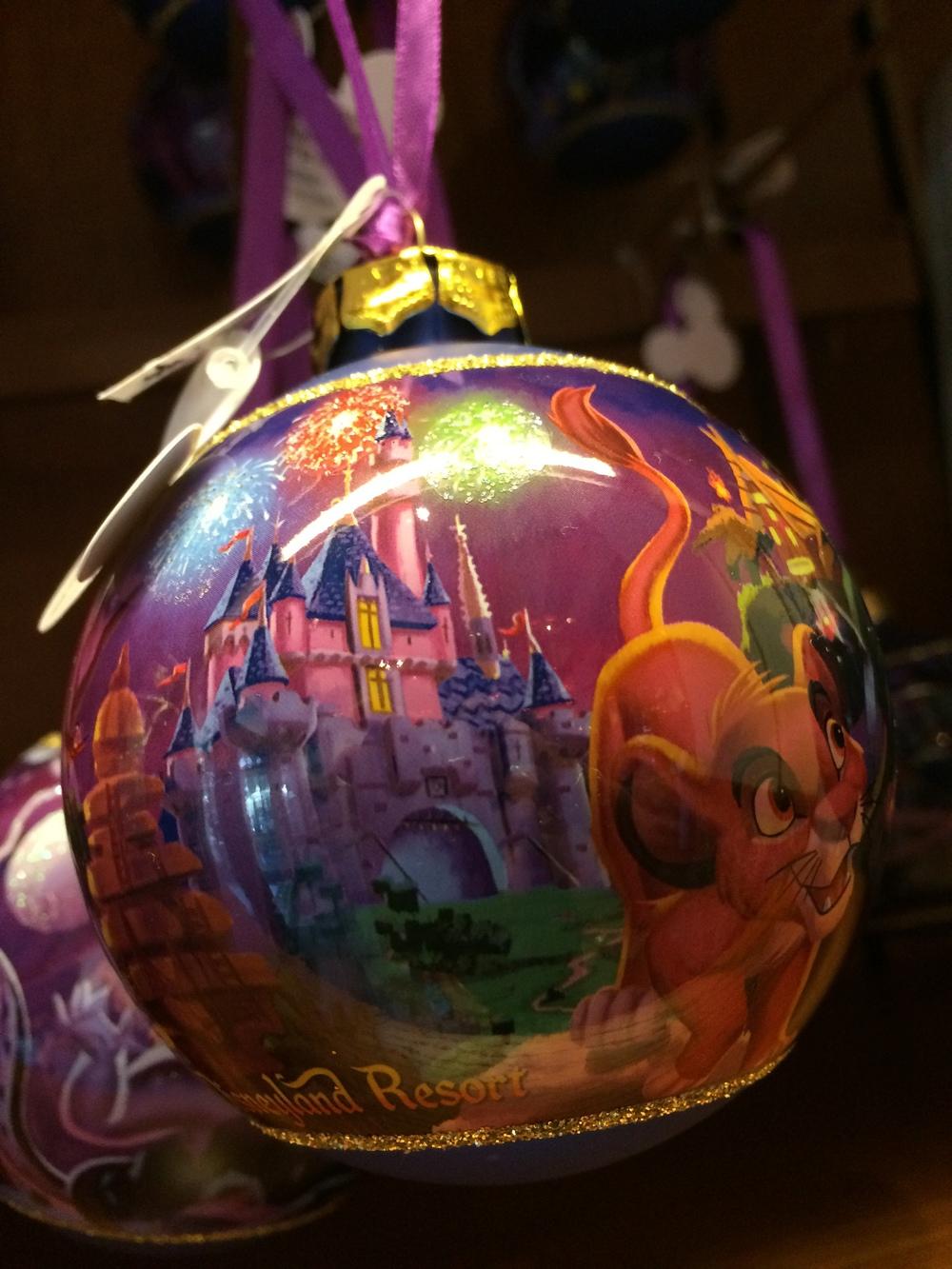 Close up of Disneyland Castle